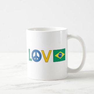 Love Peace Brazil Coffee Mug