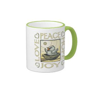 Love Peace Hope Joy Coffee Mugs