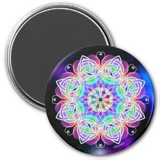 Love, Peace, Joy 7.5 Cm Round Magnet