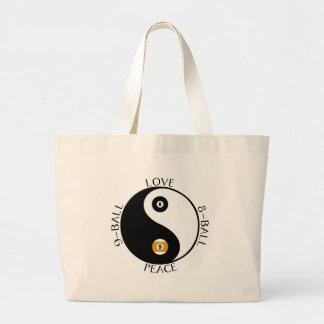 Love Peace pool tote Jumbo Tote Bag