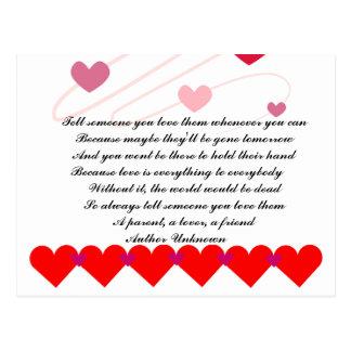 Love Peace Shower Wedding Party Faith Hope Destiny Postcard