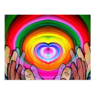 Love Peace Unity_ Postcard