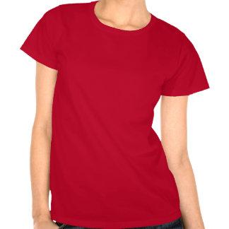 Love Pelican Hearts Women s Red T-shirt
