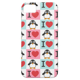 Love Penguin for  iPhone 5 iPhone 5 Covers