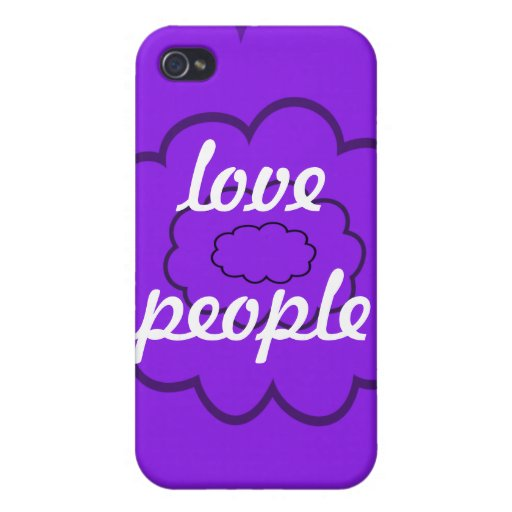 love people iPhone 4/4S cover