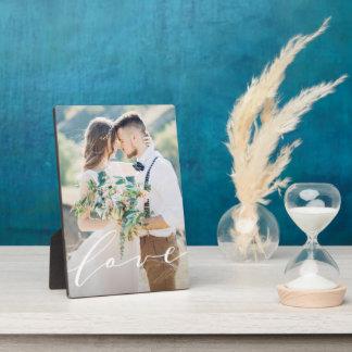 Love Photo Plaque