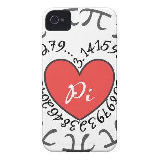 Love Pi 3.14 iPhone 4 Case