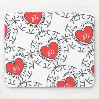 Love Pi 3.14 Mouse Pad