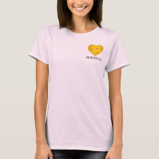 Love Pickleball Heart T-Shirt