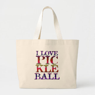 Love Pickleball Tote Bag