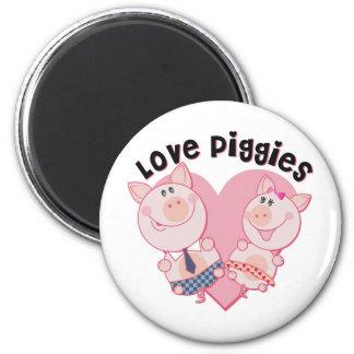 Love_Piggies Magnets