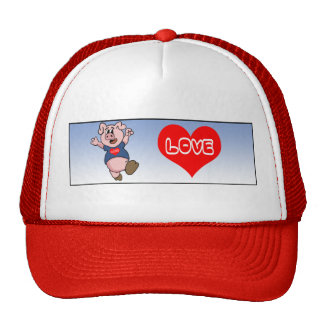 Love Piggy Hats