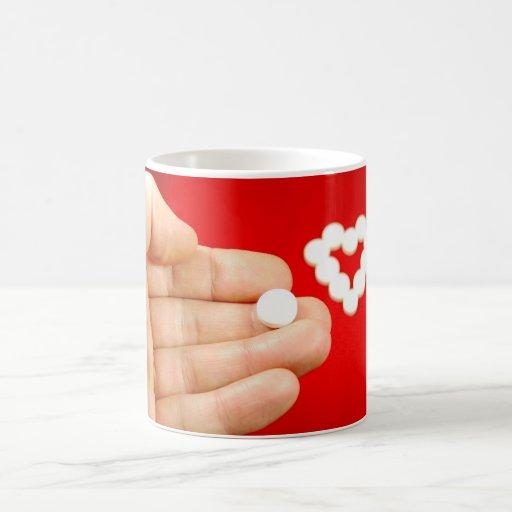 Love pill mugs
