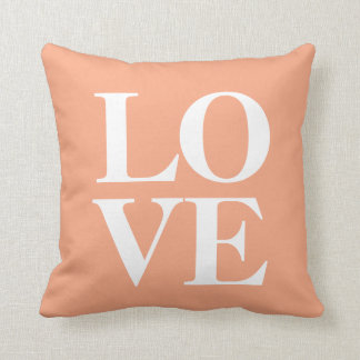 Love Pillow | Peach Cushions