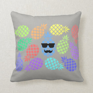 """Love Pineapple"" Colorful Cushion"