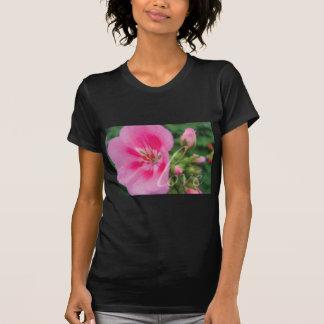 Love Pink Geranium T Shirts