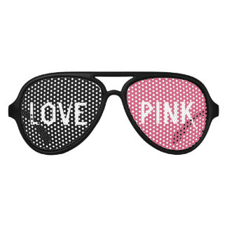 LOVE PINK Party Shades