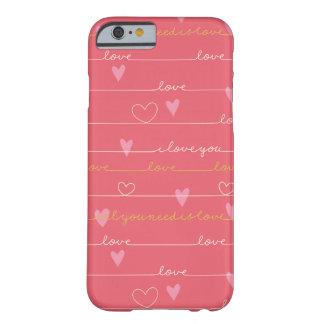 Love pink romantic iphone case