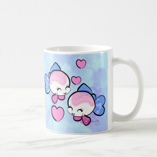 Love Pisces Fishes Coffee Mugs