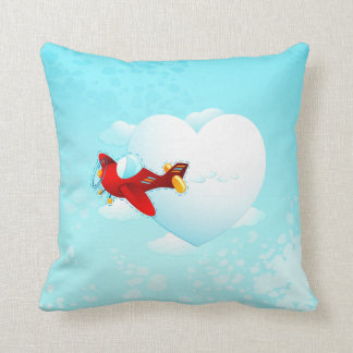 Love plane, pillow