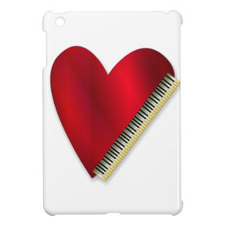 Love Playing Piano iPad Mini Covers