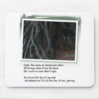 Love Poems and Tree Roots Mouse Pad
