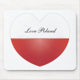 Love Poland Mousepad