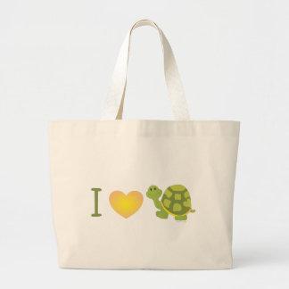 Love Pop Turtle Jumbo Tote Bag