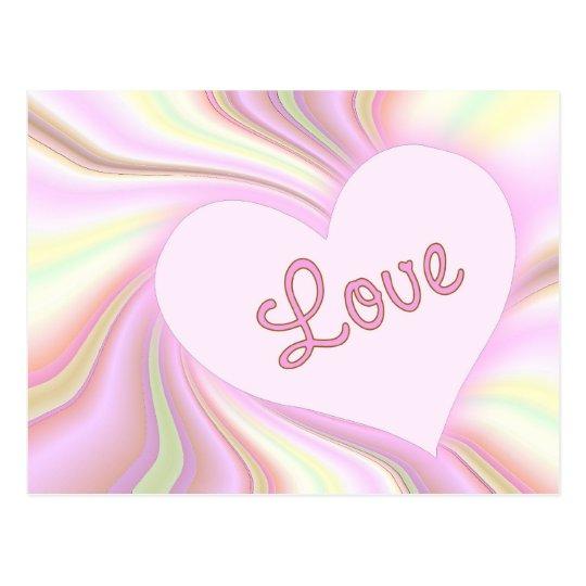 Love Post Card