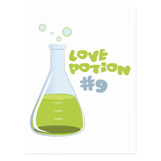 Love Potion #9 Postcard