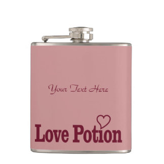 Love Potion custom flask