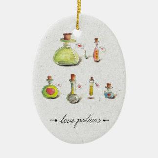 love potions christmas ornament