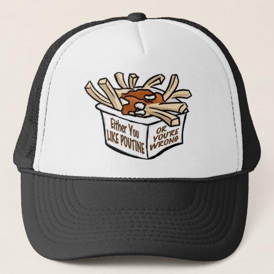 love poutine trucker hat