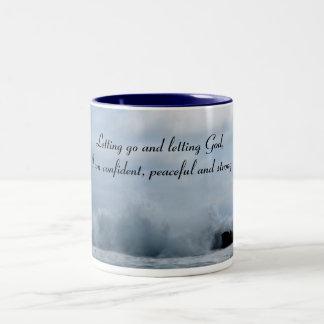 Love Power_ Two-Tone Mug