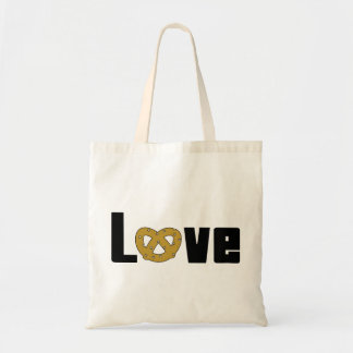 Love Pretzels Gift Budget Tote Bag