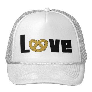 Love Pretzels Gift Trucker Hat