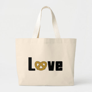 Love Pretzels Gift Tote Bags