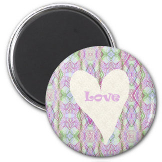 Love Products 6 Cm Round Magnet