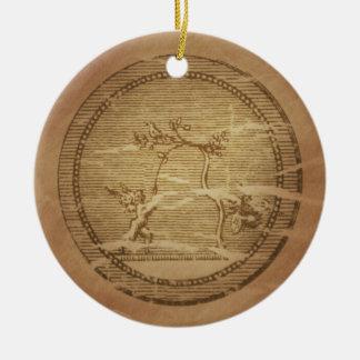 Love Prosperity Peace Magic Charms Christmas Ornament