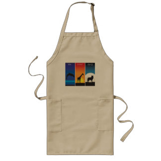 Love, Protect and Cherish Animals Long Apron