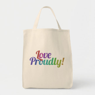 Love proudly bags