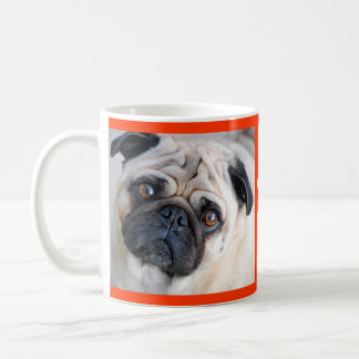 Love Pug Puppy Dog Coffee Mug / Cup