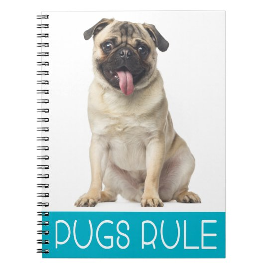 Love Pug Puppy Dog Journal Notebook