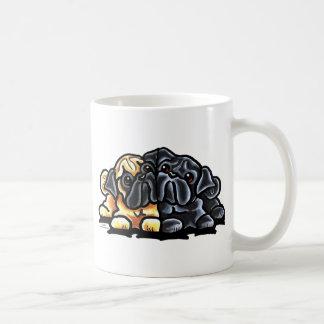 Love Pugs Basic White Mug