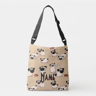 Love Pugs - personalized gift for Pug lovers Tote Bag