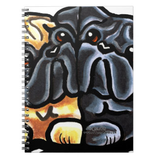 Love Pugs Spiral Notebook