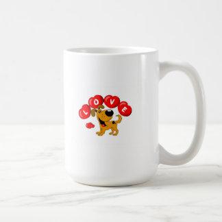 Love (Pumpkin) Basic White Mug