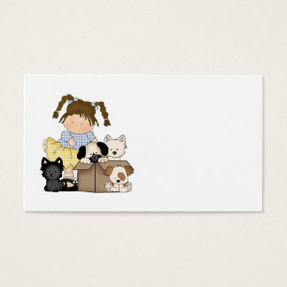 Love Puppies Business Card