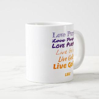 Love Purple Live Gold LSU Specialty Mug