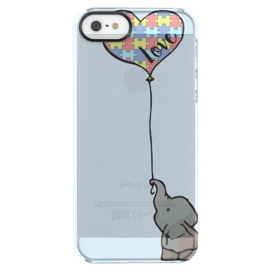 Love - Puzzle Piece - Elephant - Phone